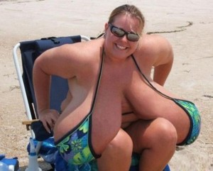 Big boobs at the beach1 300x241